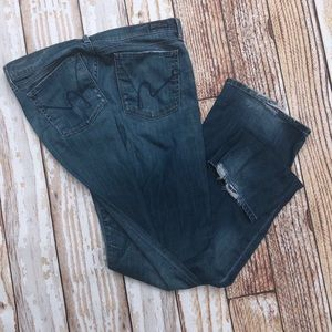 7 for all Mankind Size 31 Kelly bootcut jeans